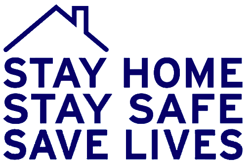 Stay home, stay safe, save lives