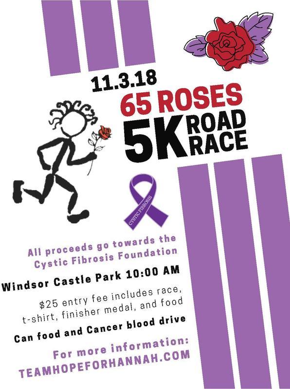 65 Roses race
