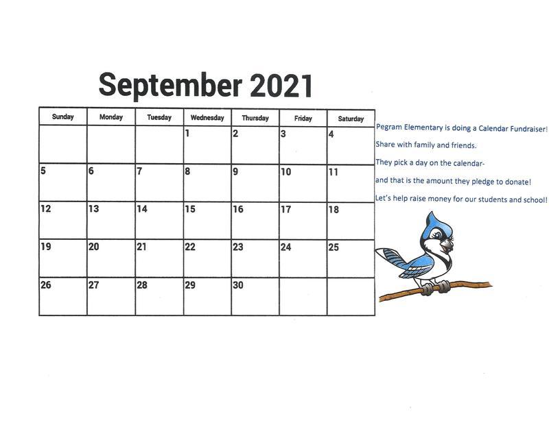 calendar fundraiser