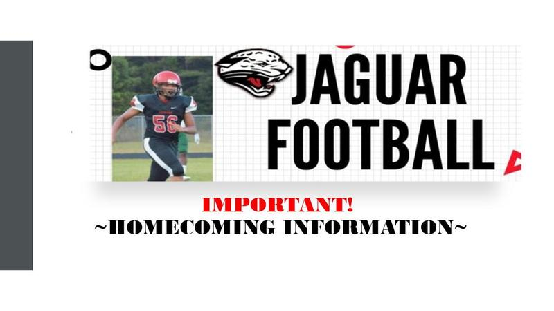 Important Homecoming Information Featured Photo