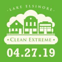 "Save the Date! The next Clean Extreme beautification event is on Saturday, April 27, 2019, sponsored by the City of Lake Elsinore, working along the ""Riverwalk"" linear trail from 8 a.m. until noon. Free Lunch and BBQ from noon to 1:00 p.m. at Swick and Matich Field."