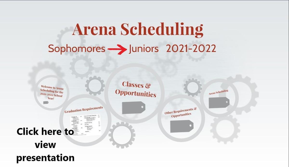 10th grade arena prezi slide