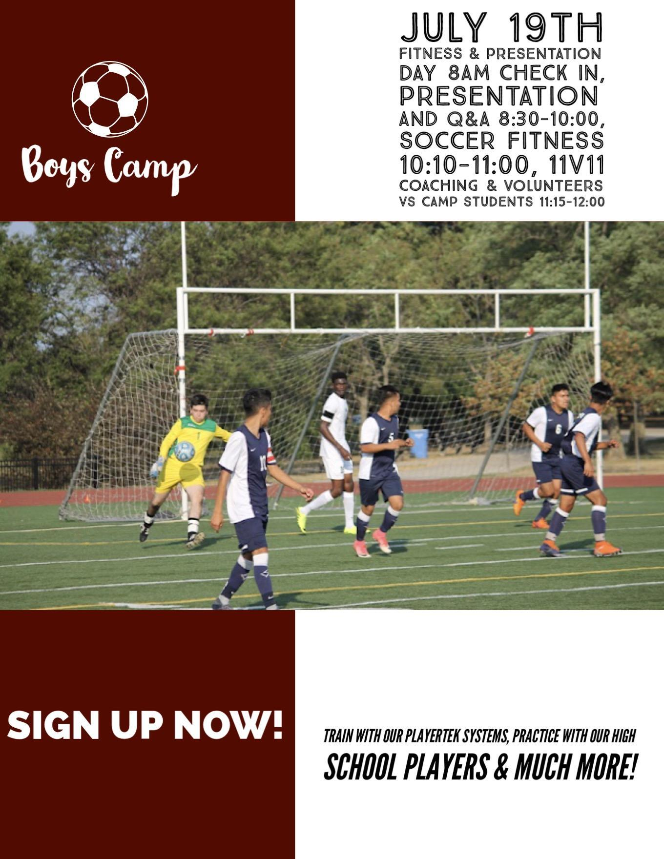 Boy's Soccer Summer Camp pg5