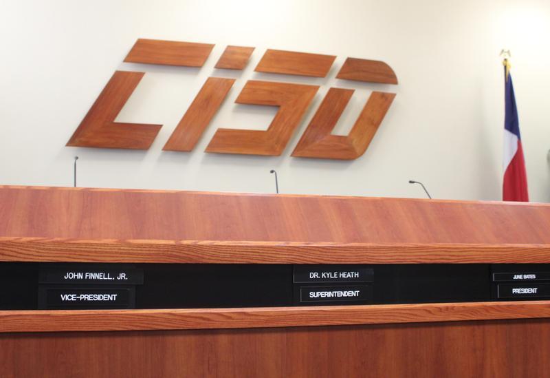 CISD Central Office Board Room Dais