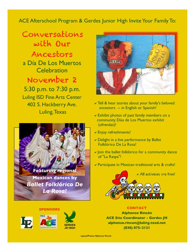 GGJH Dia De Los Muertos Celebration Thumbnail Image