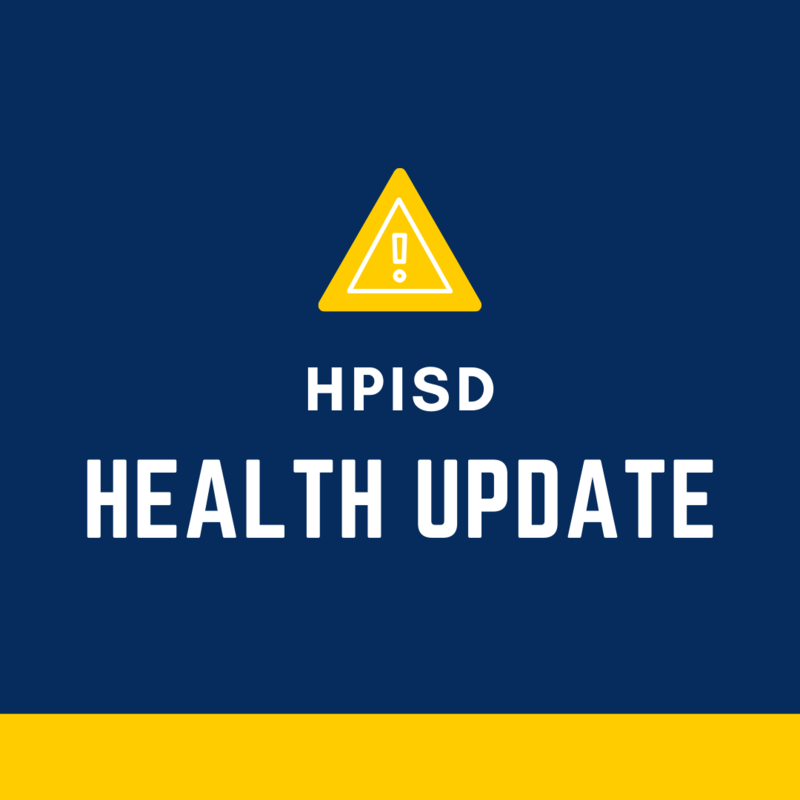 HPISD Health Update: COVID-19 Featured Photo