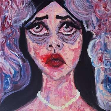 Art by Lesley Arroyo - Victim of Introspect