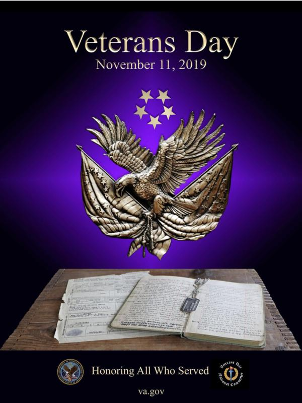 Veterans Day November 11, 2019 Thumbnail Image