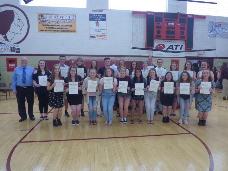 Organizational Awards Program at Morris HS Featured Photo