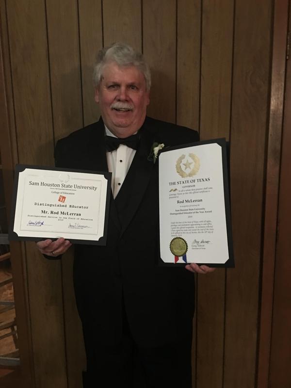 Rod McLerran SHS Award