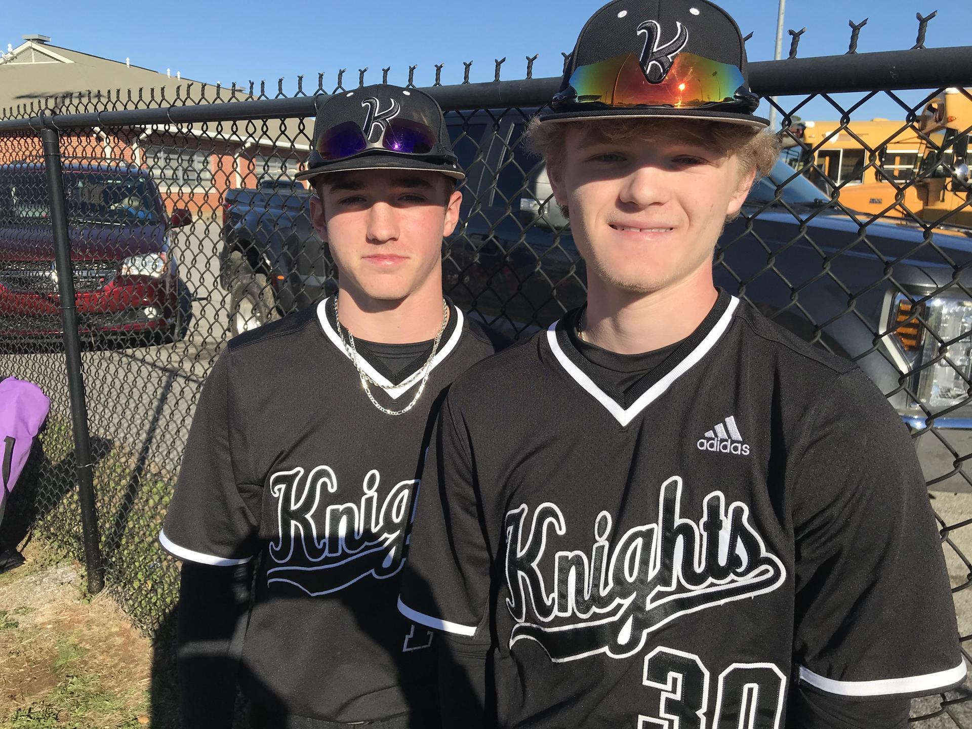 WLHS Baseball Players