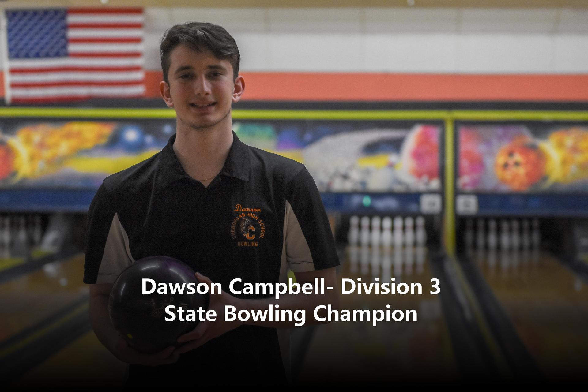 Bowling athlete