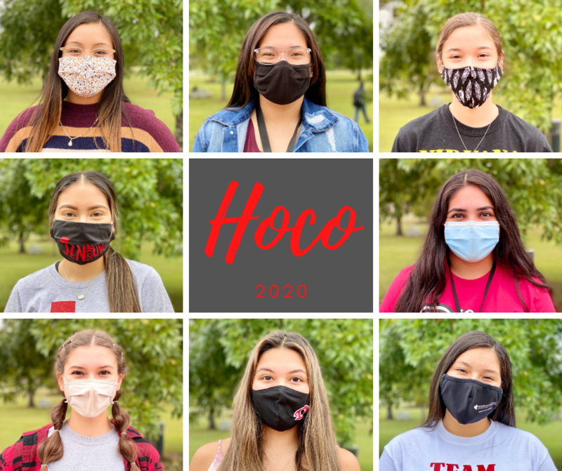 Congratulations to our Homecoming 2020 Court! Thumbnail Image