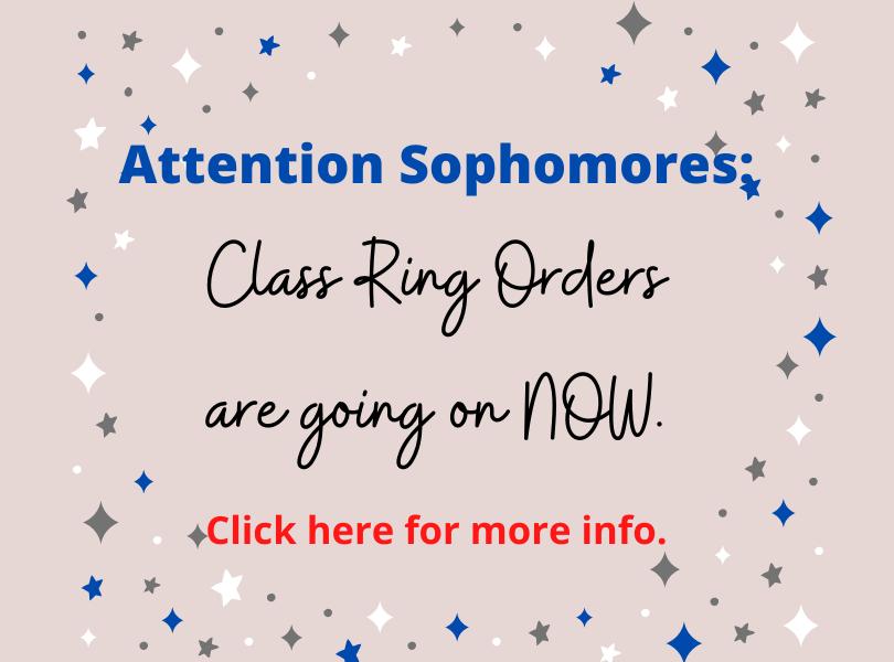 Class Ring Order Info