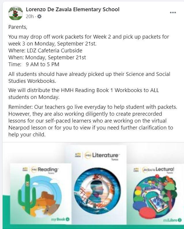 Week 3 Reading Workbook and Packet Distribution Featured Photo
