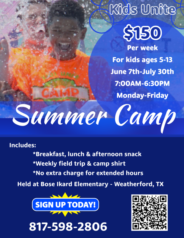 WISD Kids Unite Summer Camp (Click here for info) Featured Photo