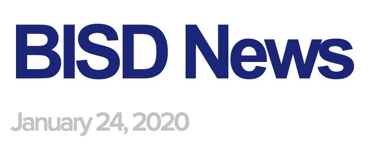 BISD News 1/24/20