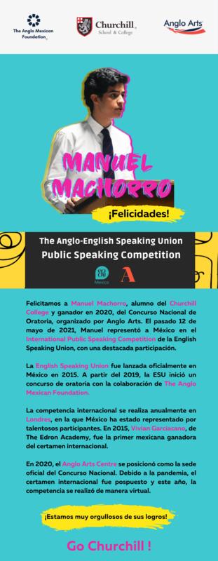 Manuel Machorro | English Speaking Competition Thumbnail Image