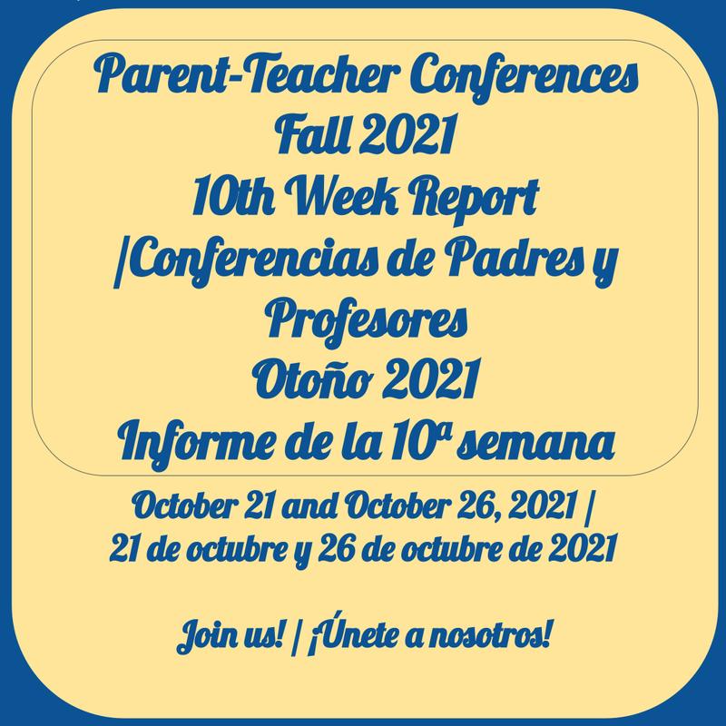 Parent-Teacher Conference / Conferencia de Padres y Maestros Featured Photo