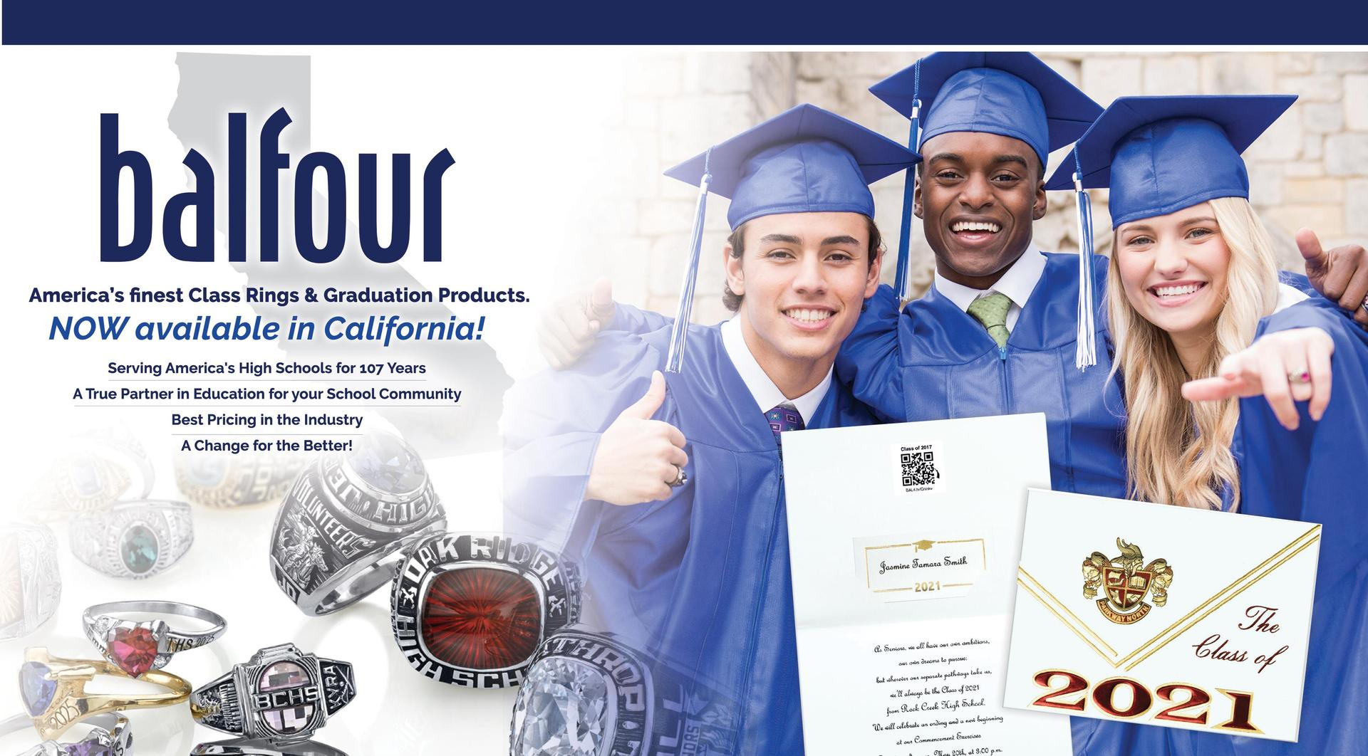 Balfour America's finest Class Ring & Graduation Products.