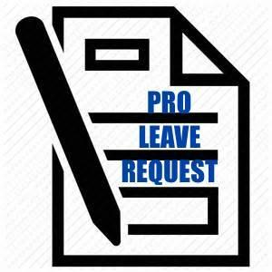 Pro Leave Request