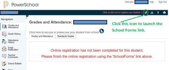 Online Registration 2 of 4