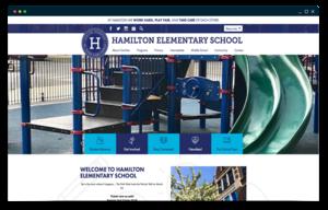 Hamilton Elementary website