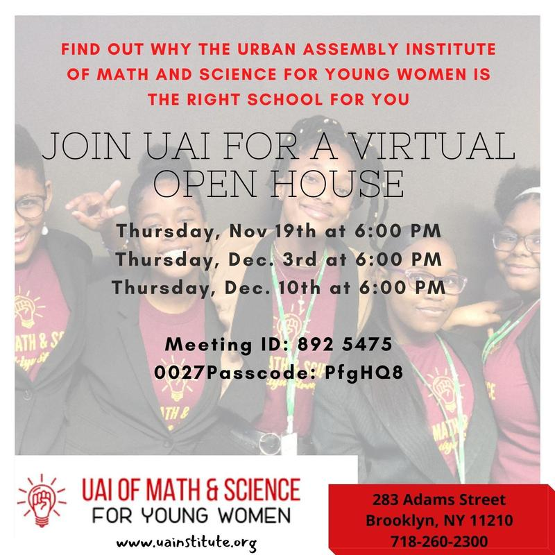 Virtual Open House Dates