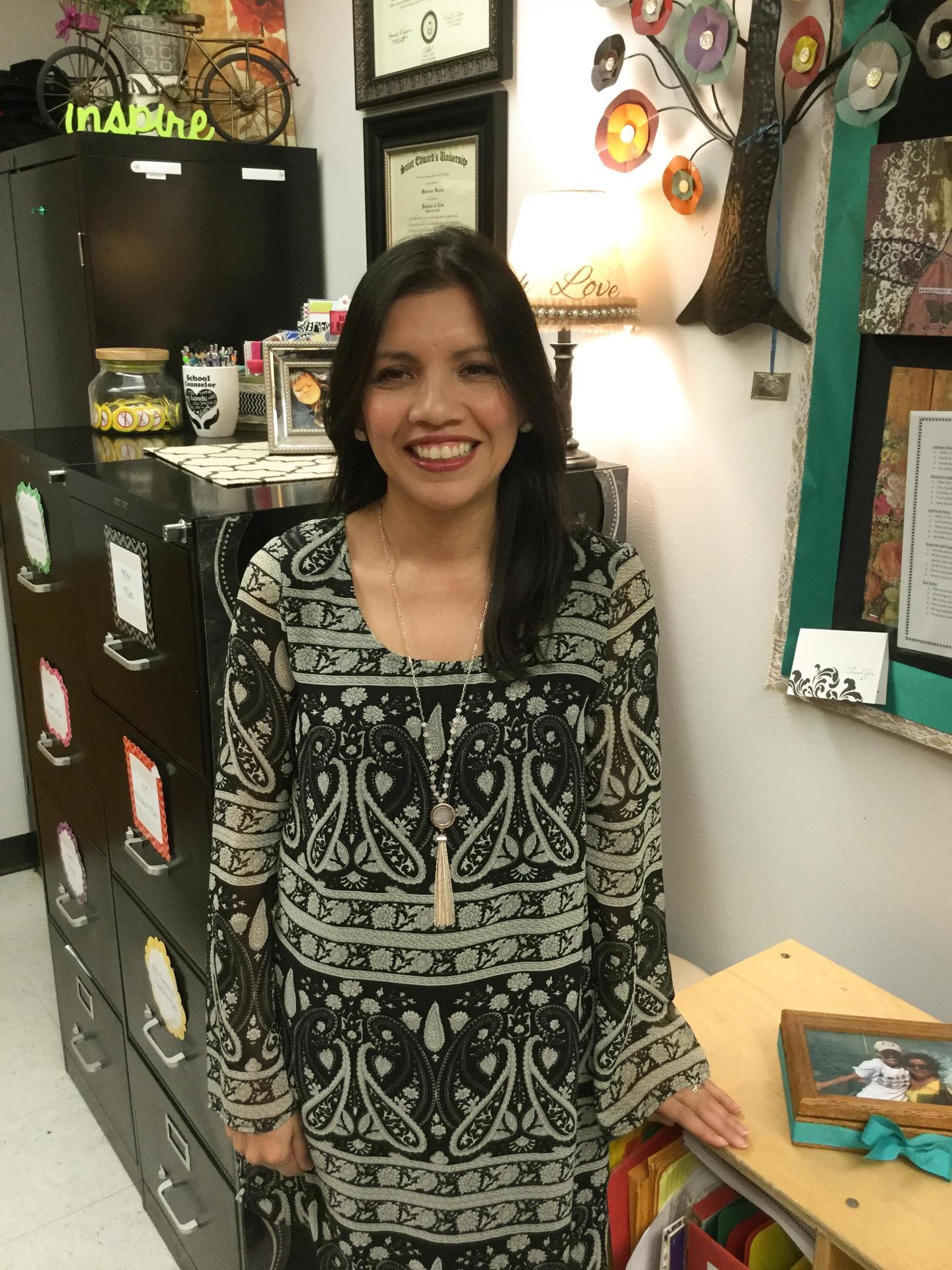 photo of counselor maricruz perez
