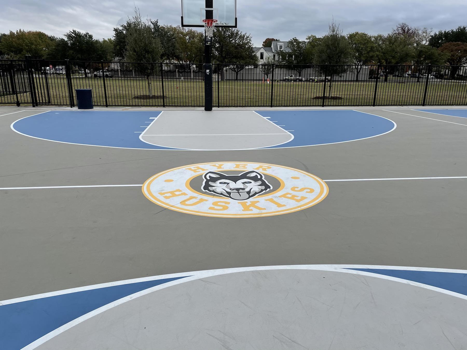 Hyer Elementary Basketball Court