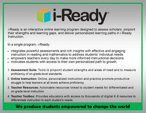 McComb School District Offers i-Ready in Grades K-8