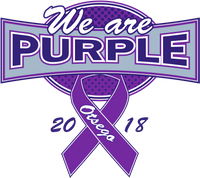 We are purple logo