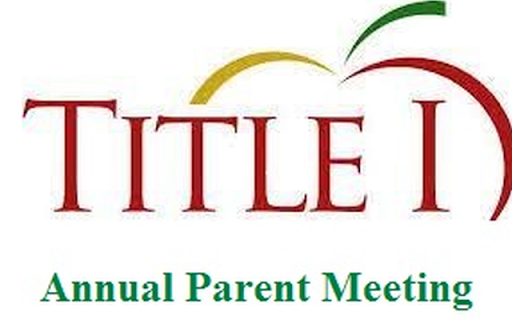 Title I Annual Parent Meeting Set for 9/24 Featured Photo
