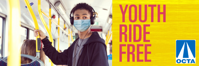 OCTA Youth Ride Free Promotion Featured Photo