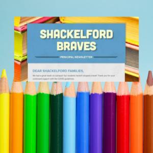 title box of Shackelford newsletter
