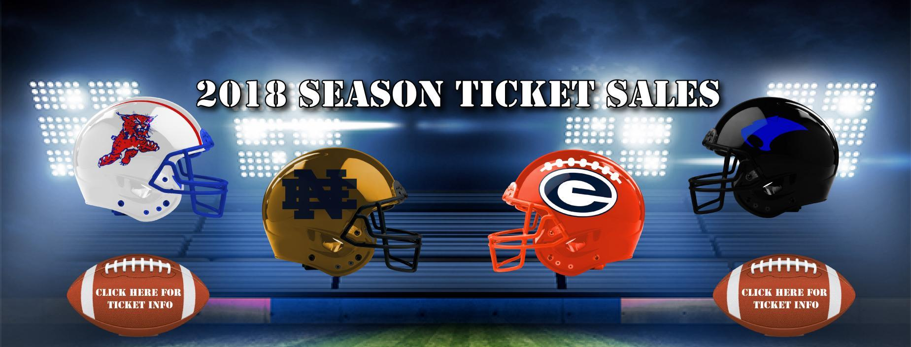ECISD 2018 Football Season Ticket Sales Banner