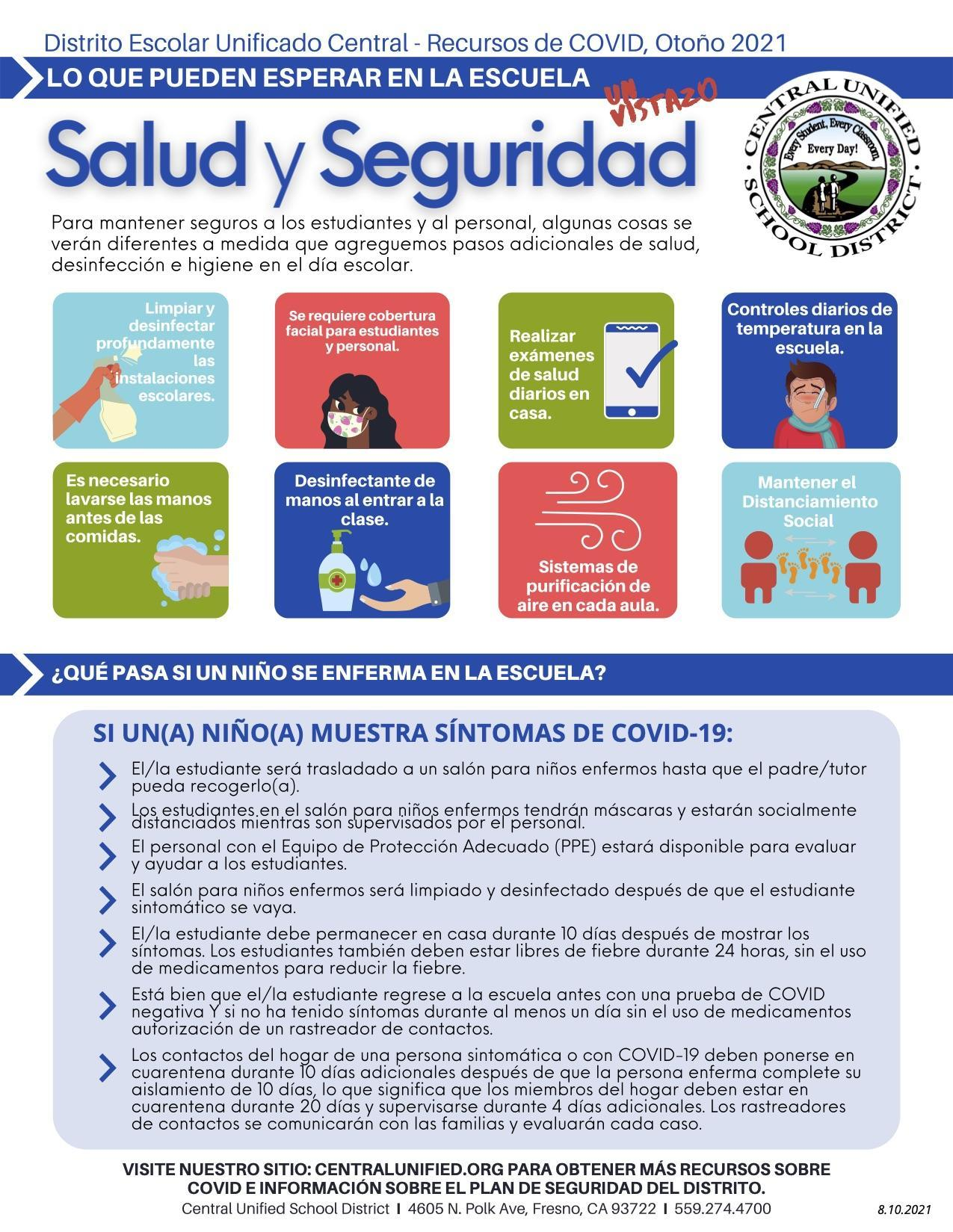 (Spanish) Health and Safety