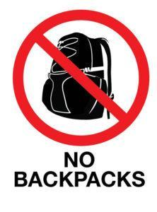 Backpack Policy Thumbnail Image