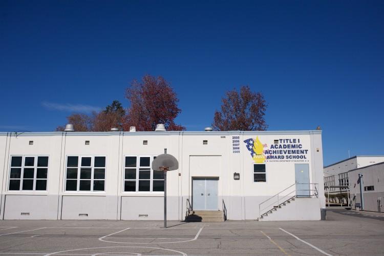 Garfield School basketball court