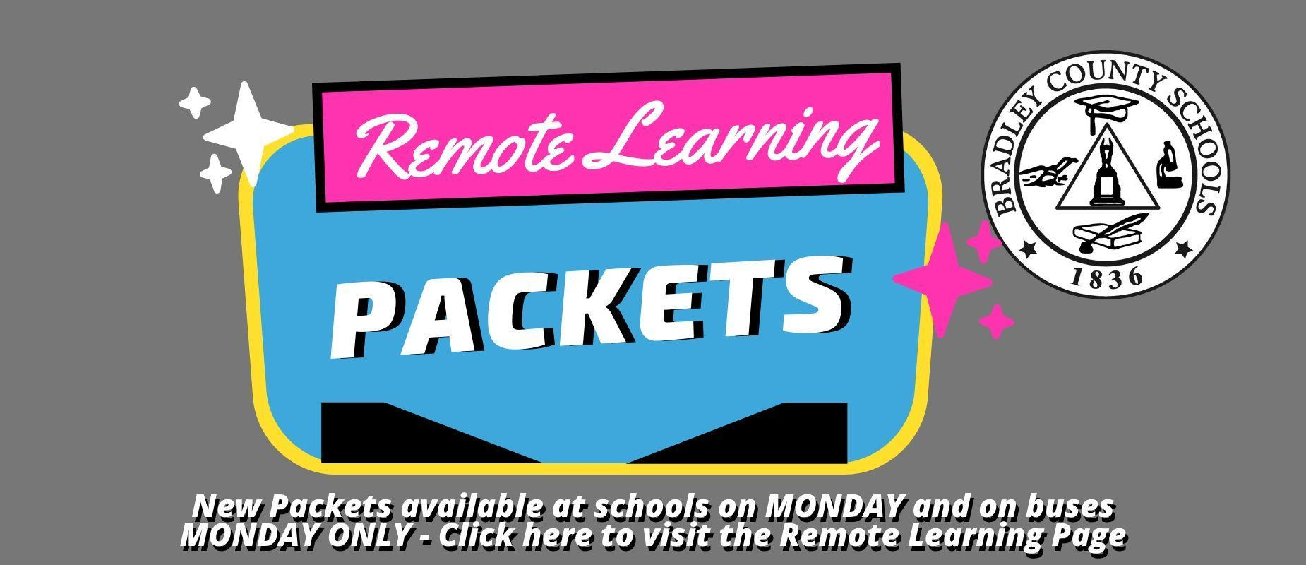 Remote Learning Packets