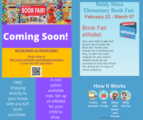 SAVE THE DATE!!   The Scholastic Virtual Book Fair Featured Photo
