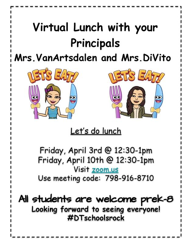 Virtual Lunch with your Principals Thumbnail Image