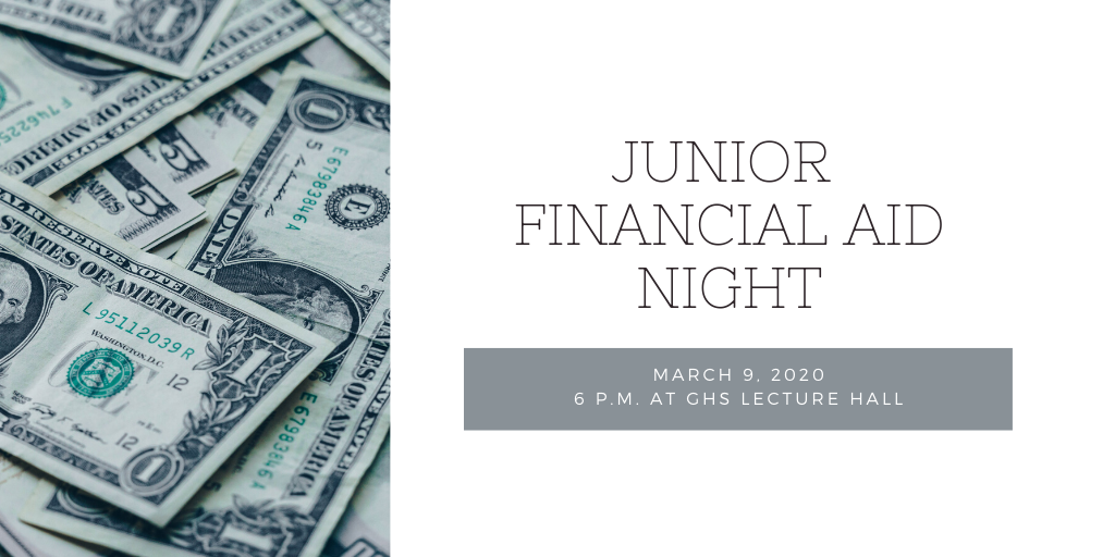 Junior Financial Aid Night