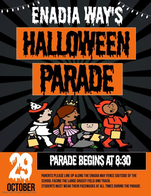 Halloween Parade 10-29-2021 8:30 a.m. - 9:00 a.m. Featured Photo