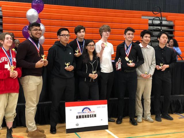 Amundsen Academic Decathlon Team takes 3rd at City! Featured Photo
