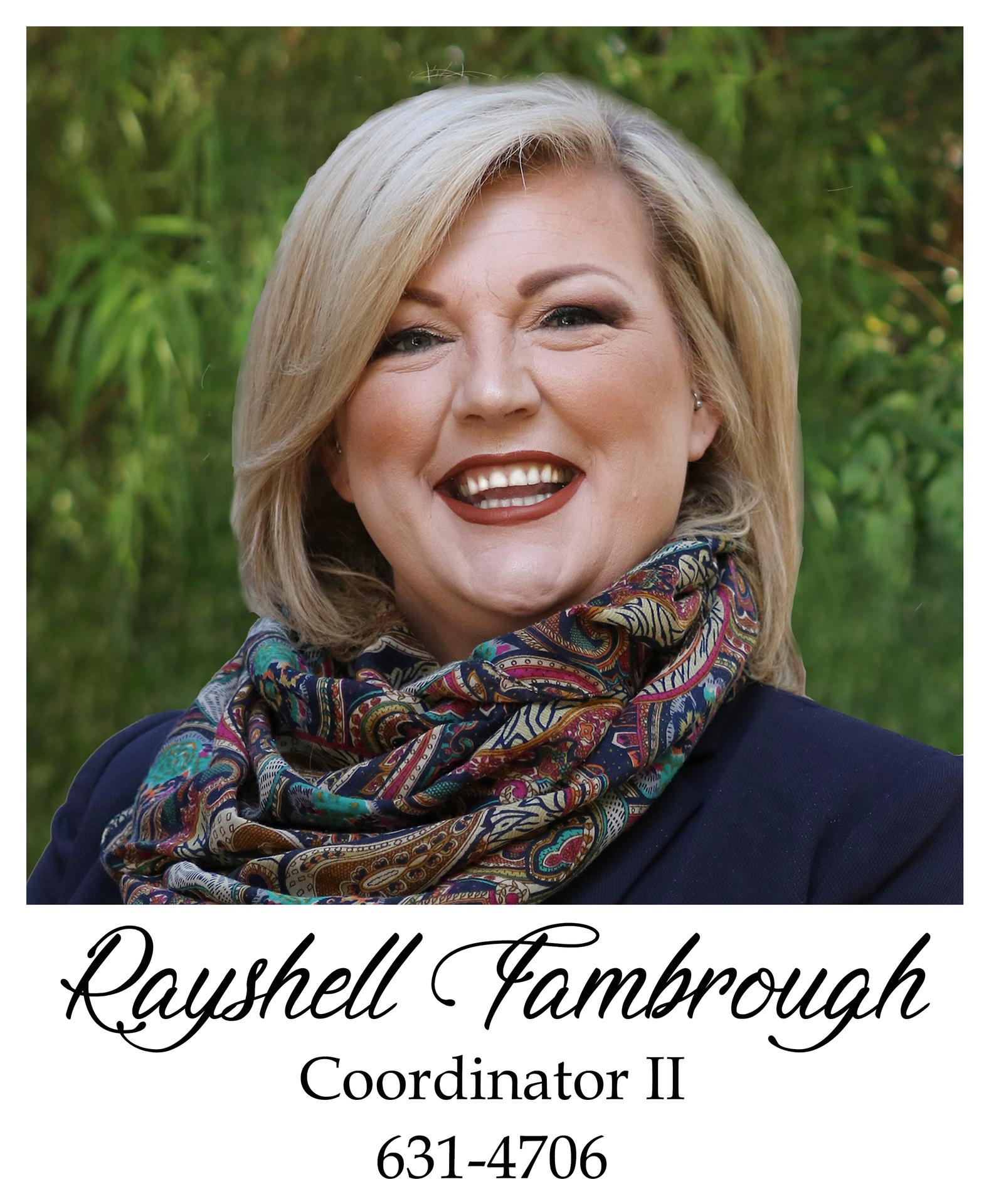 Rayshell Fambrough