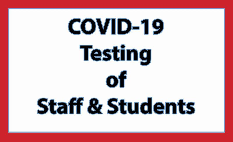COVID-19 Testing for Staff & Students Featured Photo
