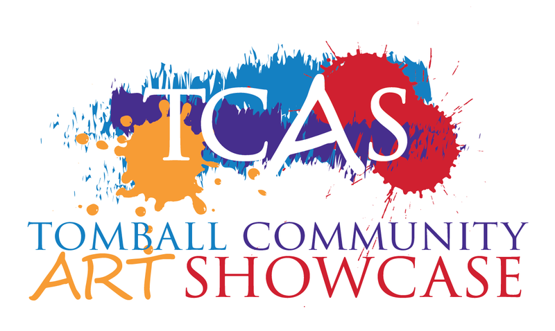 Tomball Community Art Showcase (TCAS) logo