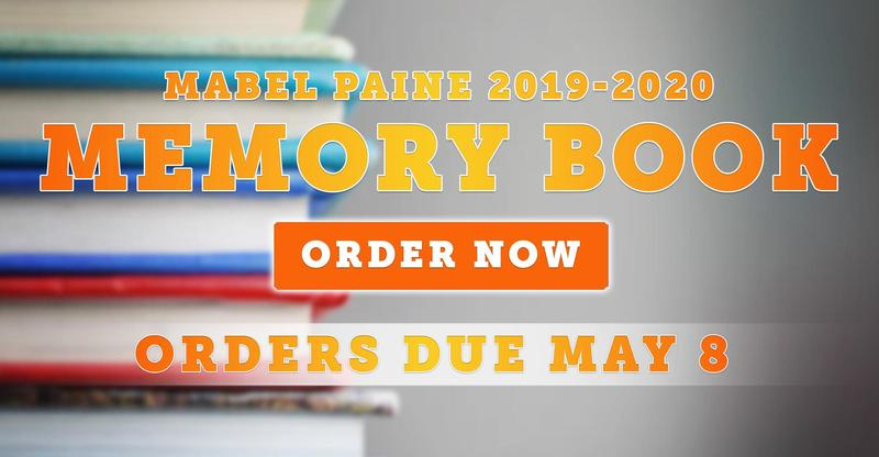 Mabel Paine Elementary Memory Book Orders (2019-2020)