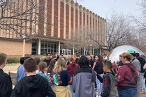 Terra Vista Students Visit College Campus